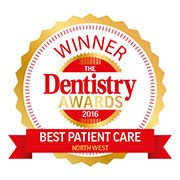 The Dentistry Awards Winner of Best Patient Care North West